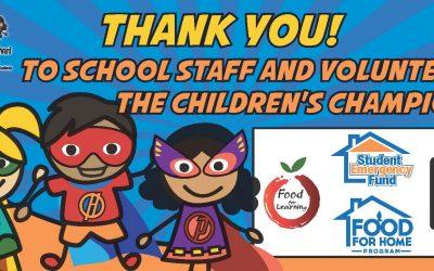 Thank-You Children's Champions!