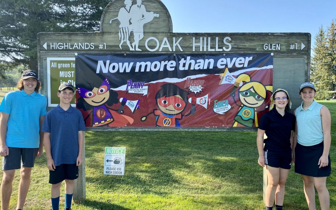 Students Participate and Benefit from Annual Golf Tournament Fundraiser