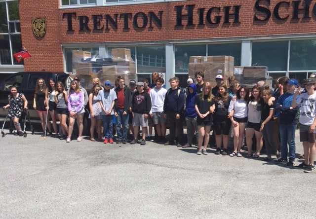 $40,700 Grant to Trenton High School to Support Students