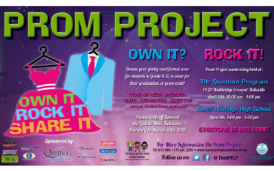 Please Join us at Prom Project