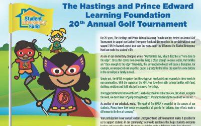 HPELF 20th Annual Golf Tournament